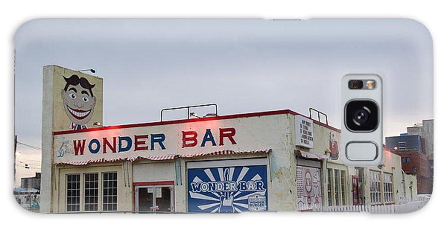 Wonder Bar Galaxy S8 Case featuring the photograph The Wonder Bar, Asbury Park by Bob Cuthbert
