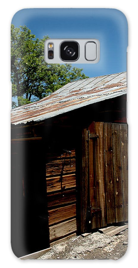 Usa Galaxy S8 Case featuring the photograph The Wood Shed by LeeAnn McLaneGoetz McLaneGoetzStudioLLCcom