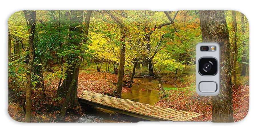 Autumn Landscapes Galaxy S8 Case featuring the photograph There Is Peace - Allaire State Park by Angie Tirado