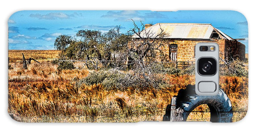 Ruins Galaxy S8 Case featuring the photograph This Old House... by Douglas Barnard
