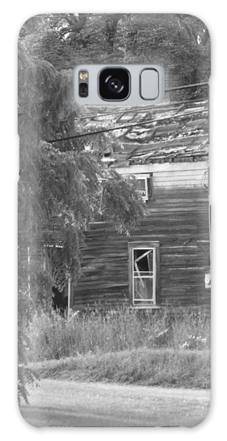 House Galaxy Case featuring the photograph This Old House by Rhonda Barrett