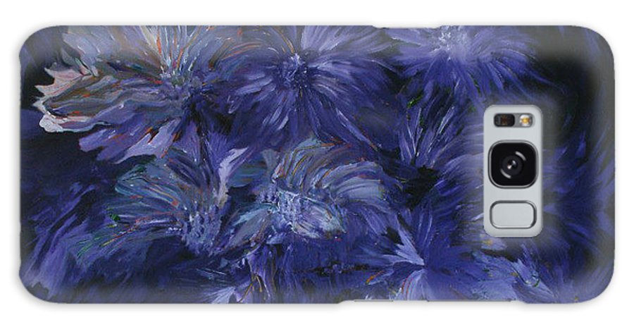 Floral Galaxy Case featuring the painting This One's For You by Carolyn LeGrand