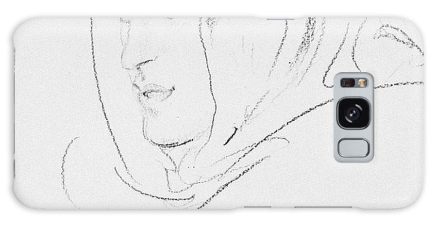 20th Century Galaxy Case featuring the drawing Thomas Edward Lawrence by Augustus John