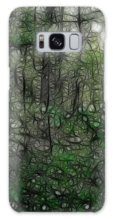 Thoreau Galaxy S8 Case featuring the photograph Thoreau Woods Fractal by Lawrence Christopher