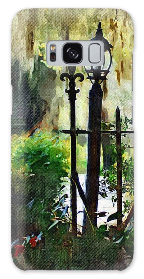 Gate Galaxy S8 Case featuring the digital art Thru The Gate by Donna Bentley