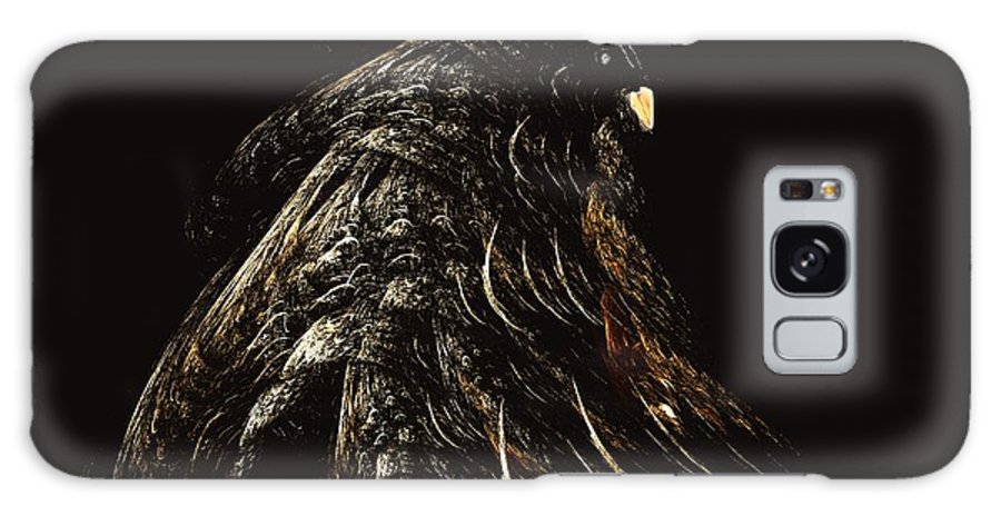 Abstract Digital Painting Galaxy S8 Case featuring the digital art Thunder Bird by David Lane