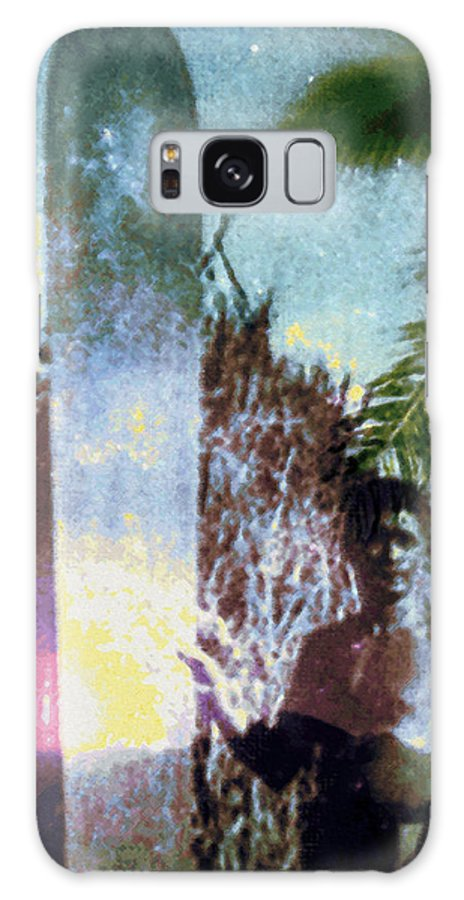 Tropical Interior Design Galaxy Case featuring the photograph Time Surfer by Kenneth Grzesik