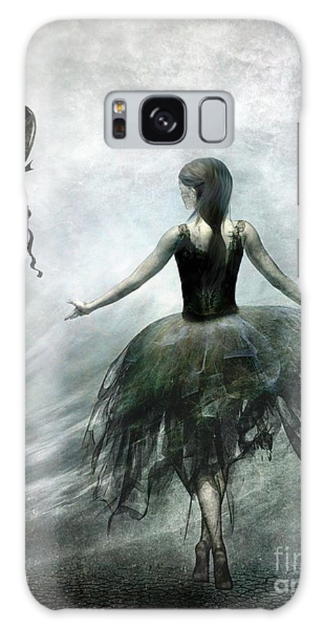Ballet Galaxy Case featuring the painting Time To Let Go by Jacky Gerritsen