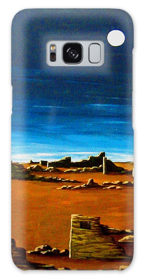 Anasazi Galaxy Case featuring the painting Timeless by Diana Dearen