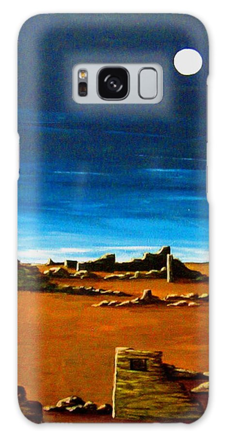 Anasazi Galaxy S8 Case featuring the painting Timeless by Diana Dearen