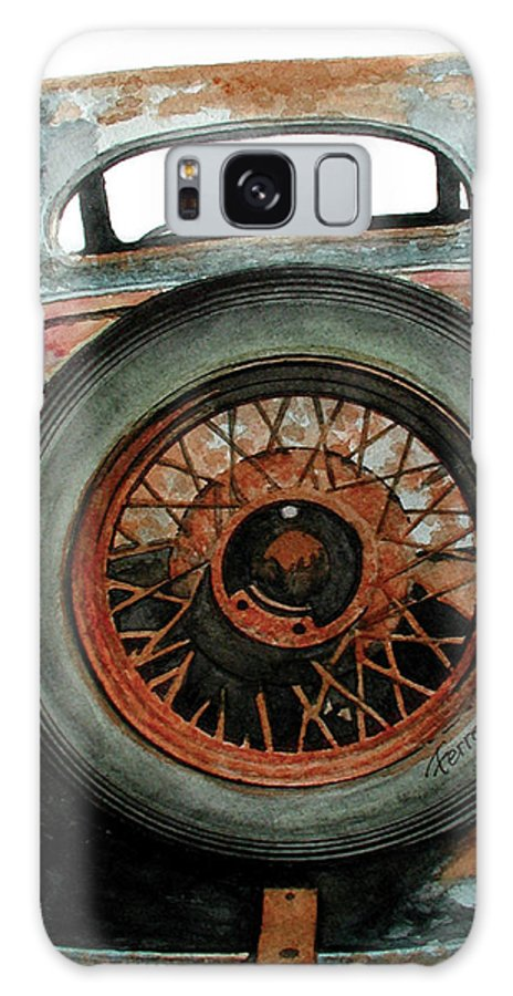 Car Galaxy S8 Case featuring the painting Tired by Ferrel Cordle