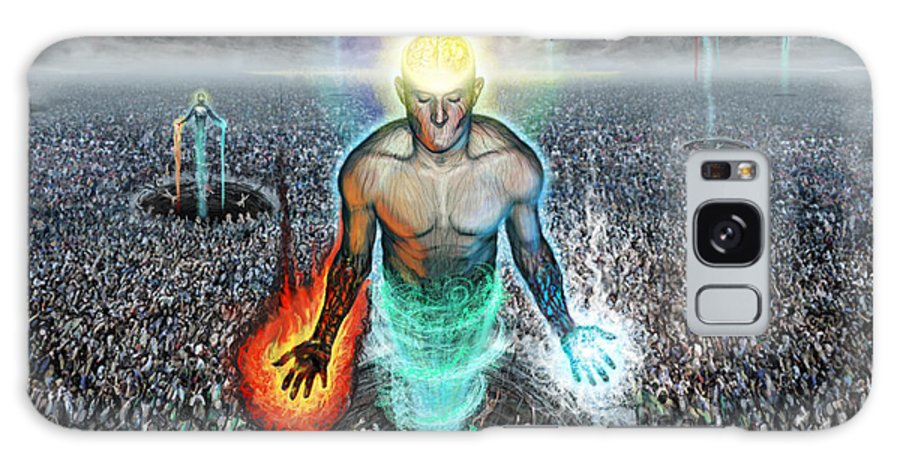 Tonykoehl Galaxy S8 Case featuring the digital art To Rise Above The Masses by Tony Koehl