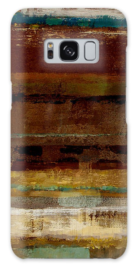 Abstract Galaxy Case featuring the painting Togetherness by Ruth Palmer