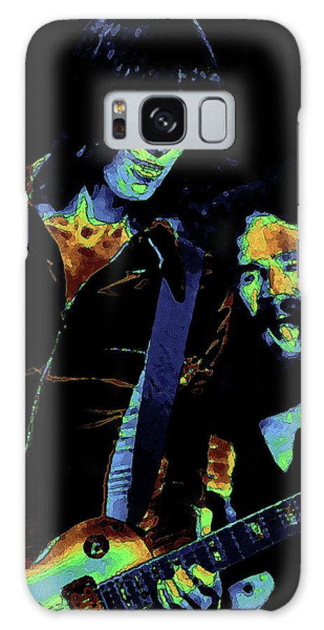 Rock Images Galaxy S8 Case featuring the photograph Tom And Brad In Spokane 2 by Ben Upham