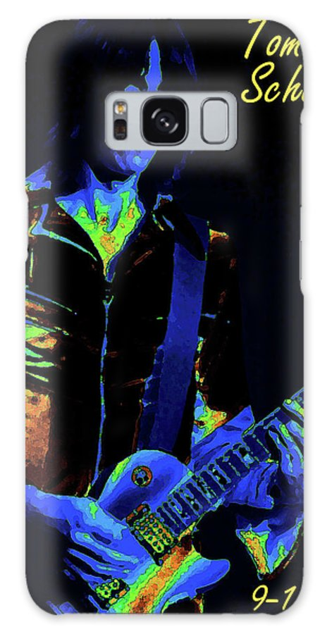 Rock Images Galaxy S8 Case featuring the photograph Cosmic Guitar 3 by Ben Upham