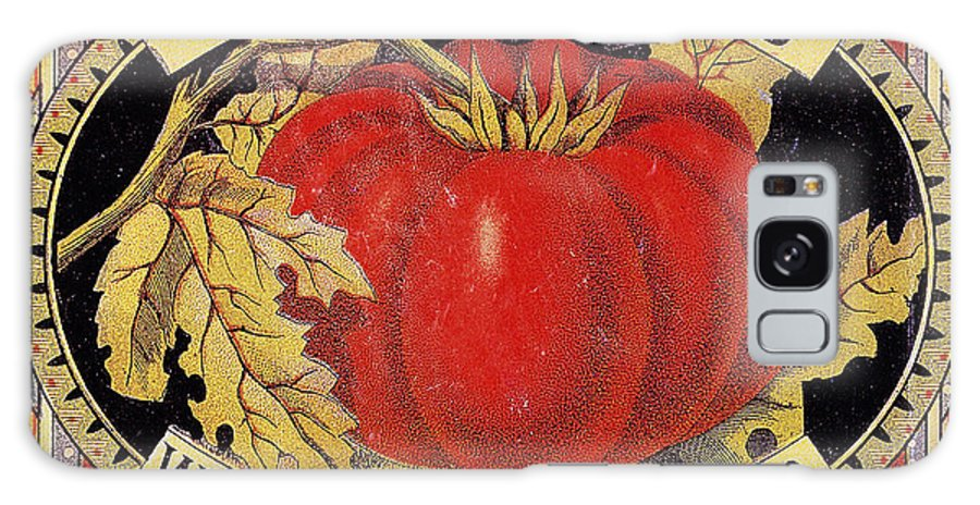 20th Century Galaxy S8 Case featuring the photograph Tomato Can Label by Granger