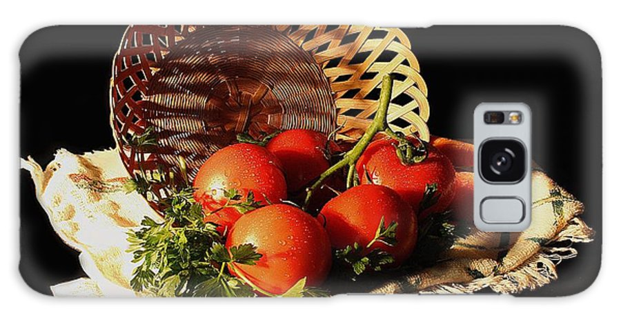 Still Galaxy S8 Case featuring the photograph Tomatos. Out Of Basket. by Viktor Savchenko