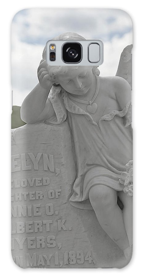 Bodie Galaxy Case featuring the photograph Tombstone Angel For An Angel by Christine Till