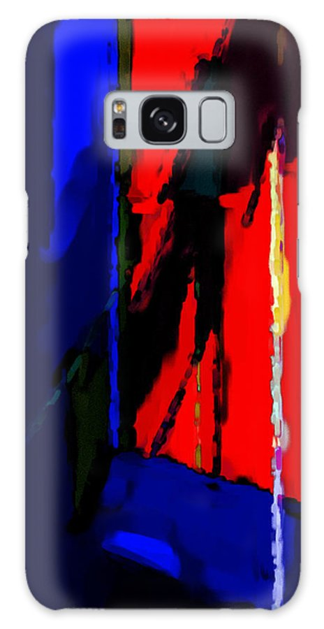 Torment Galaxy S8 Case featuring the digital art Torment by Richard Rizzo
