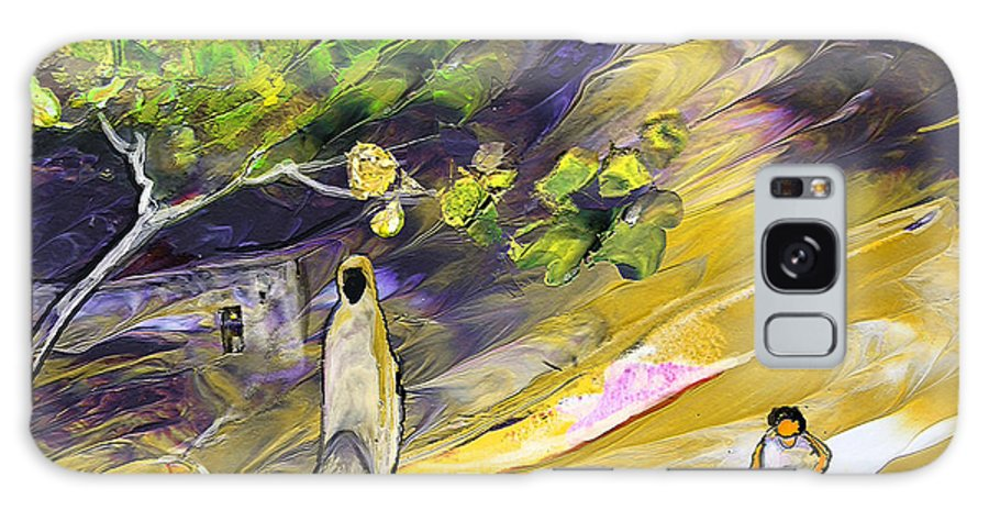 Tornado Galaxy S8 Case featuring the painting Tornado by Miki De Goodaboom