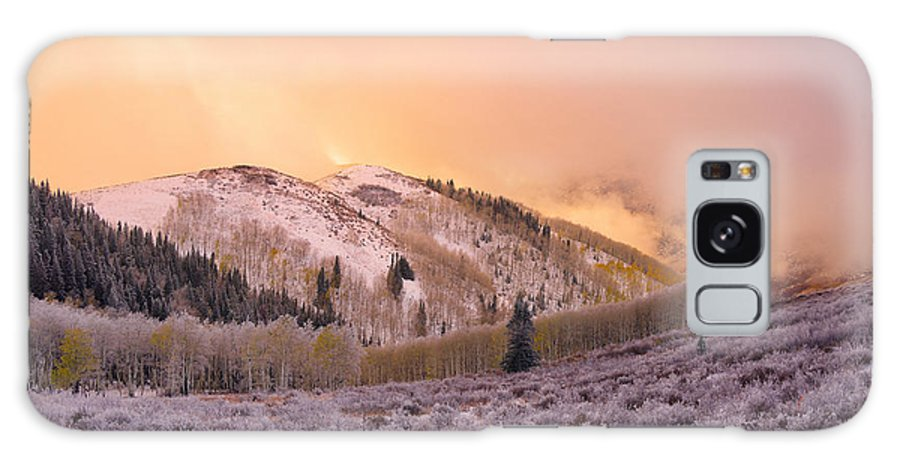 Touch Of Winter Galaxy S8 Case featuring the photograph Touch Of Winter by Chad Dutson