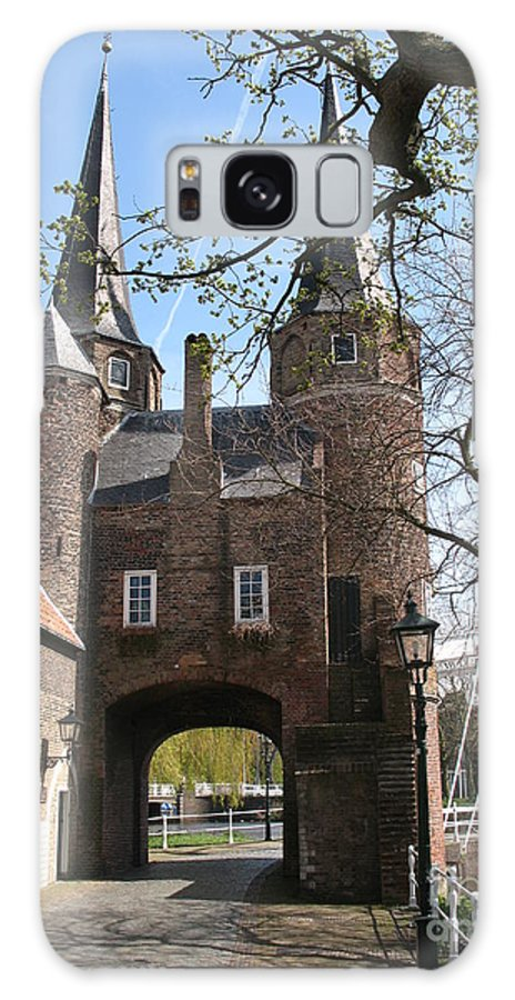 Town Gate Galaxy S8 Case featuring the photograph Town Gate - Delft by Christiane Schulze Art And Photography