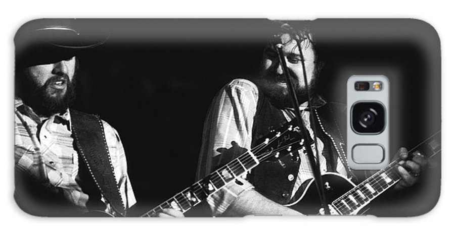 Marshall Tucker Band Galaxy S8 Case featuring the photograph Toy And George In Spokane by Ben Upham