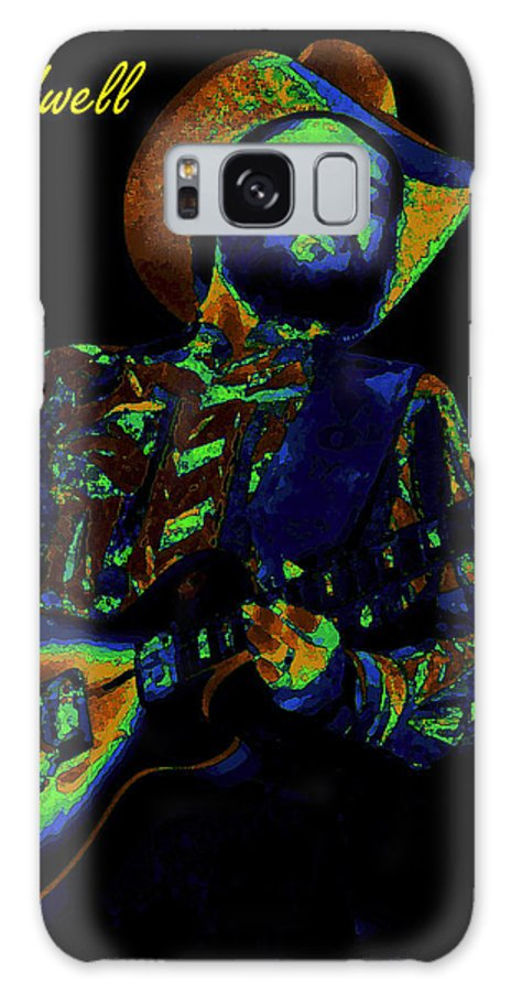Marshall Tucker Band Galaxy S8 Case featuring the photograph Toy Caldwell Searchin' For A Rainbow by Ben Upham