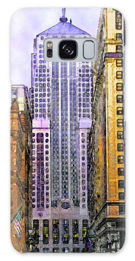 Trading Places Galaxy S8 Case featuring the digital art Trading Places by John Beck