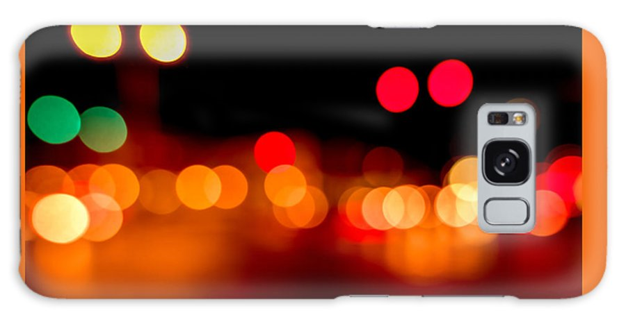 Out Of Focus Galaxy S8 Case featuring the photograph Traffic Lights Number 5 by Steve Gadomski