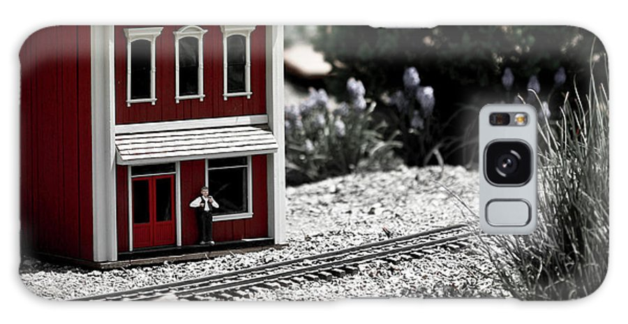 Train Galaxy S8 Case featuring the photograph Train Station by Marilyn Hunt