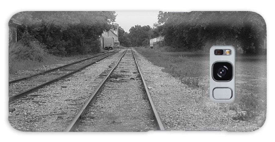 Train Galaxy S8 Case featuring the photograph Train To Nowhere by Rhonda Barrett