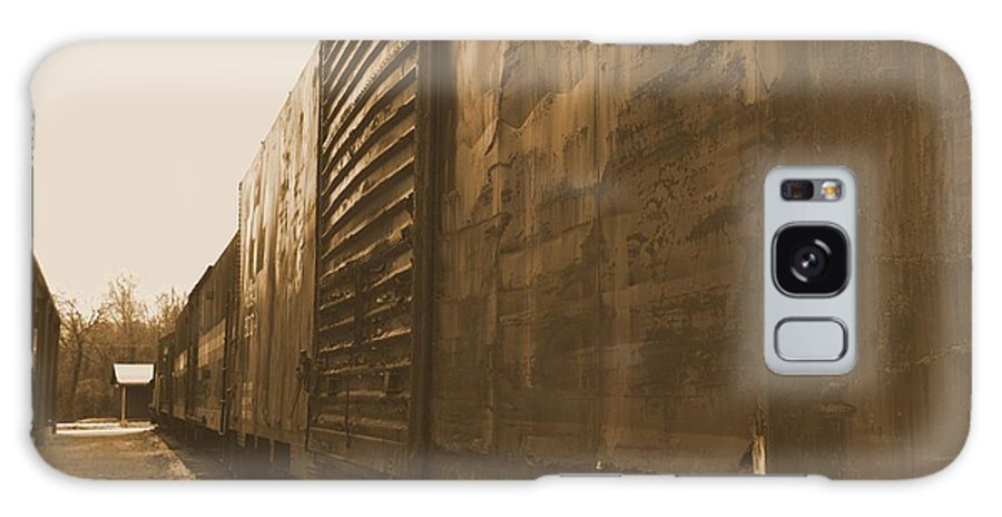 Train Galaxy S8 Case featuring the photograph Trains 12 Albumen by Jay Mann