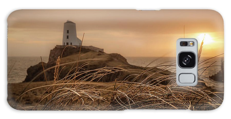 Christinesmart Galaxy S8 Case featuring the photograph Tranquil Sunset At Llanddwyn Island - Anglesey, North Wales by Christine Smart