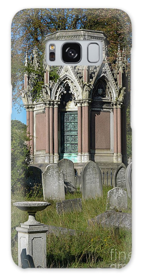 Peaceful Galaxy S8 Case featuring the photograph Tranquil Tomb by F Helm