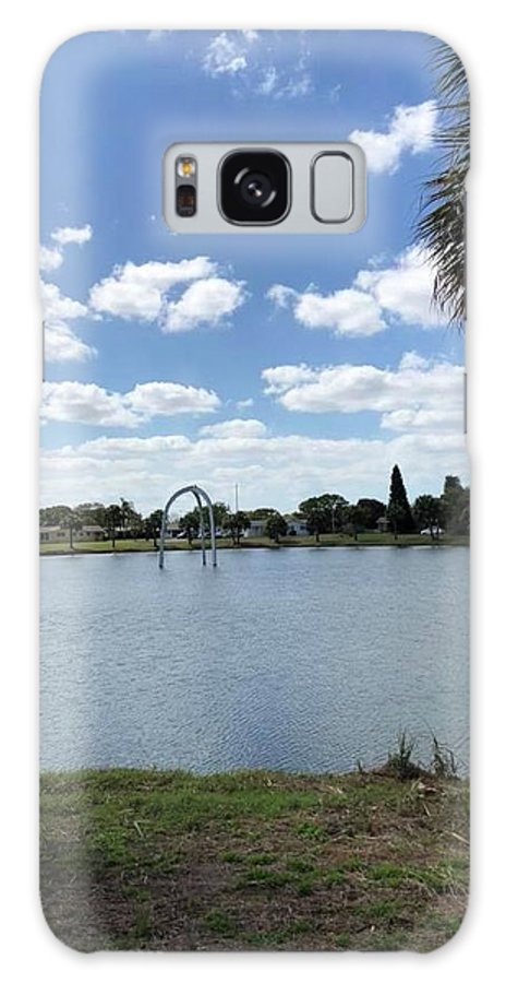 Galaxy S8 Case featuring the photograph Tranquility - Port Richey, Florida by Jordan Meleski