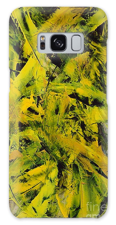 Abstract Galaxy S8 Case featuring the painting Transitions Vi by Dean Triolo