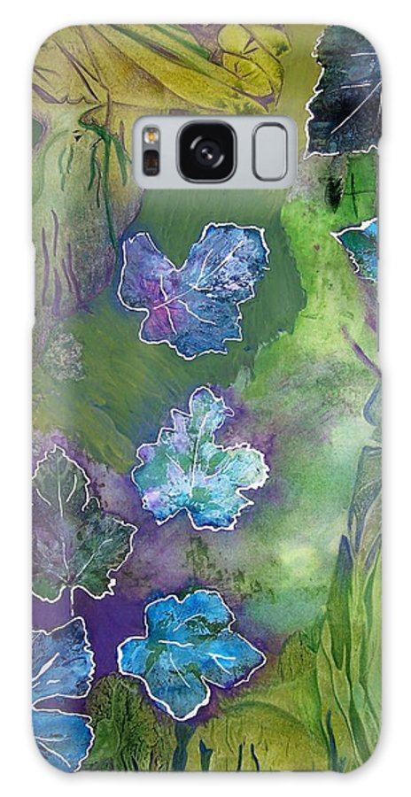 Nature Galaxy Case featuring the mixed media Transmigration Of The Soul by Vijay Sharon Govender