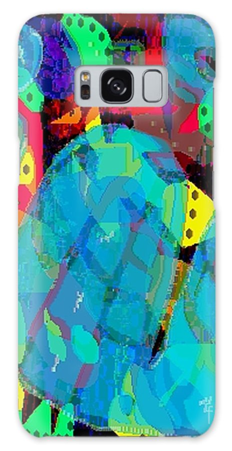 Digital Galaxy S8 Case featuring the digital art Transparencies by Ron Bissett