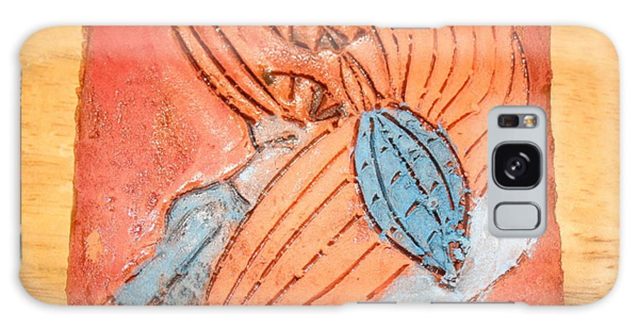 Jesus Galaxy S8 Case featuring the ceramic art Treasures - Tile by Gloria Ssali