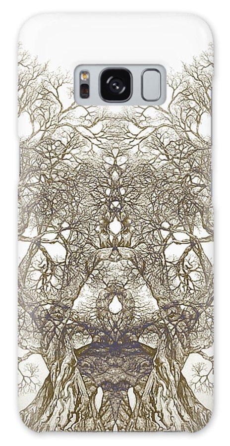 Tree Art Galaxy S8 Case featuring the digital art Tree 20 Hybrid 1 by Brian Kirchner