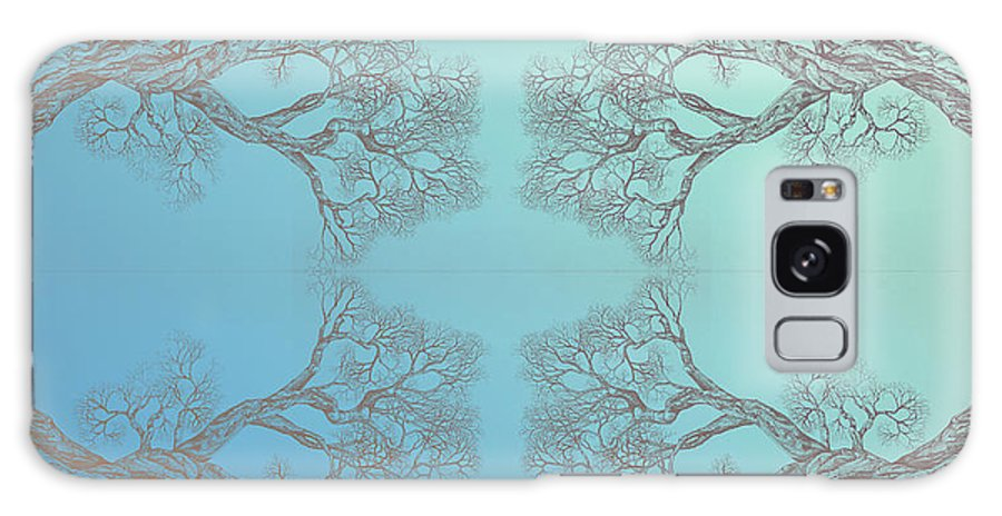 Tree Framed Prints Framed Prints Galaxy S8 Case featuring the digital art Tree 20 Hybrid 3 by Brian Kirchner