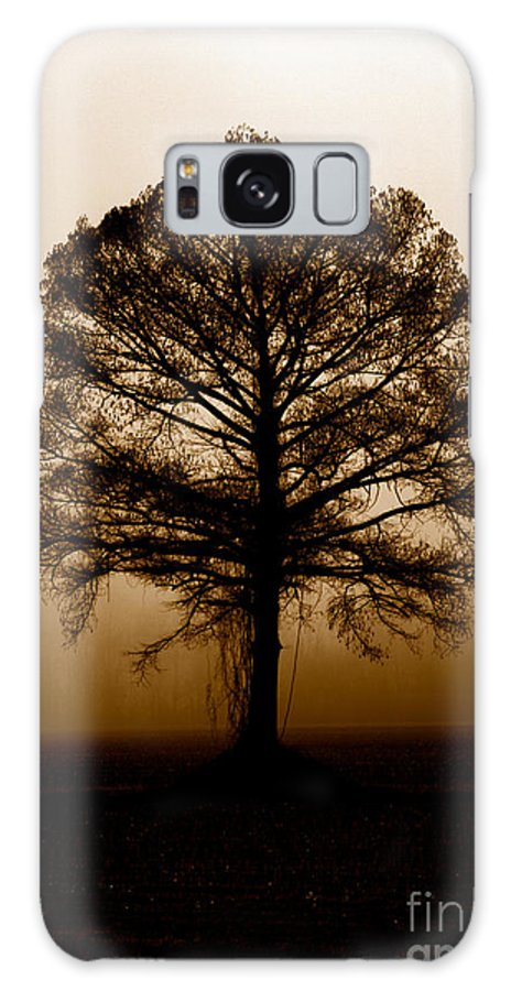 Trees Galaxy Case featuring the photograph Tree by Amanda Barcon
