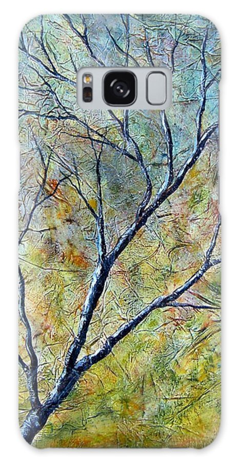 Galaxy S8 Case featuring the painting Tree Number One by Tami Booher
