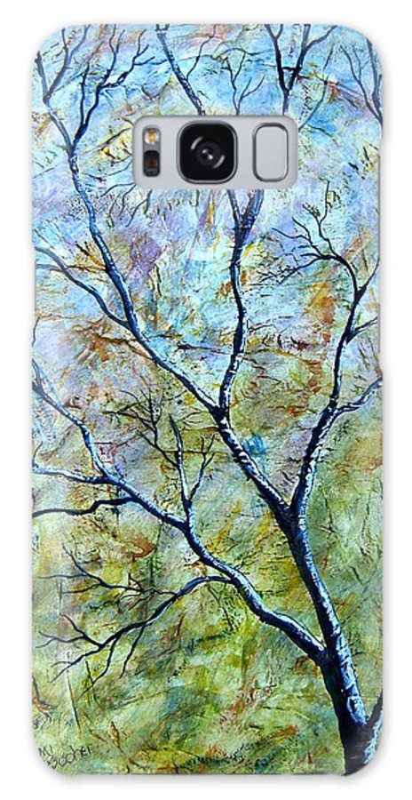 Galaxy S8 Case featuring the painting Tree Number Two by Tami Booher
