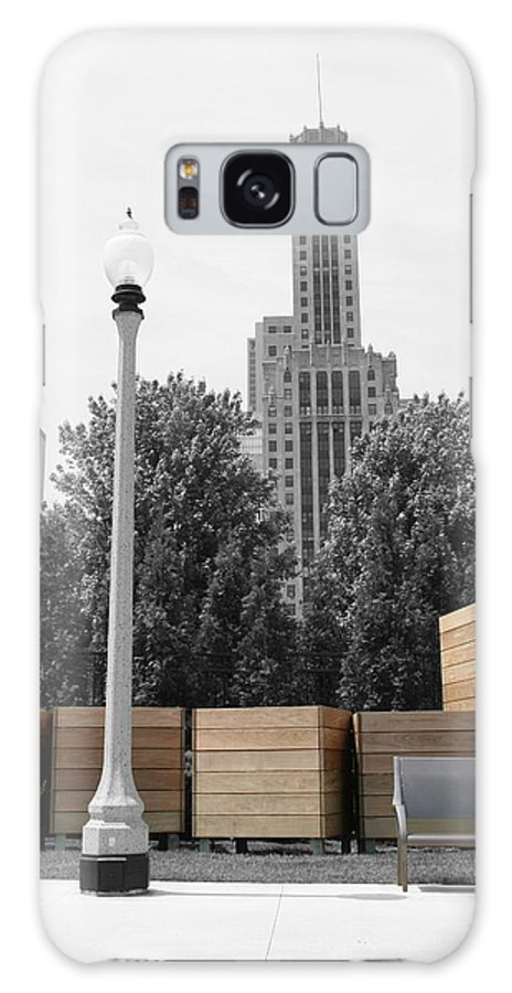 Cityscape Galaxy Case featuring the photograph Tri Towers by Dylan Punke