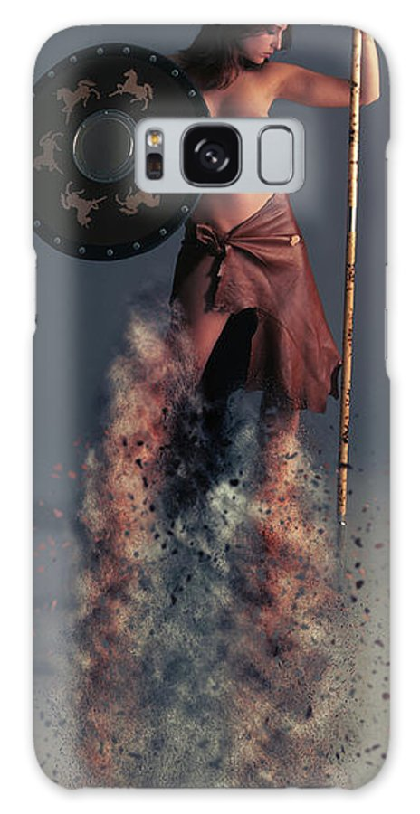 Tribal Galaxy S8 Case featuring the photograph Tribal Warrior by Smart Aviation