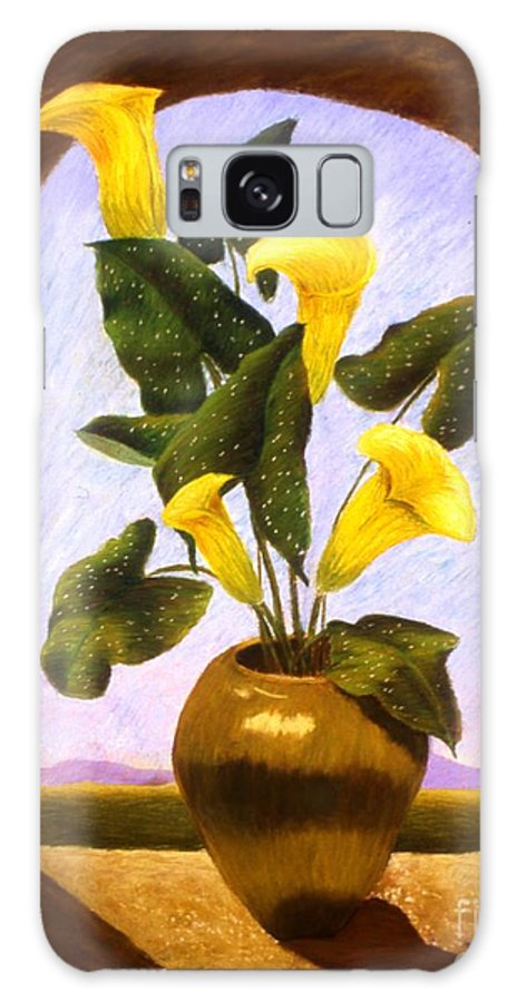 Still Life Galaxy S8 Case featuring the painting Tribute To The Dutch Masters by Mary Erbert