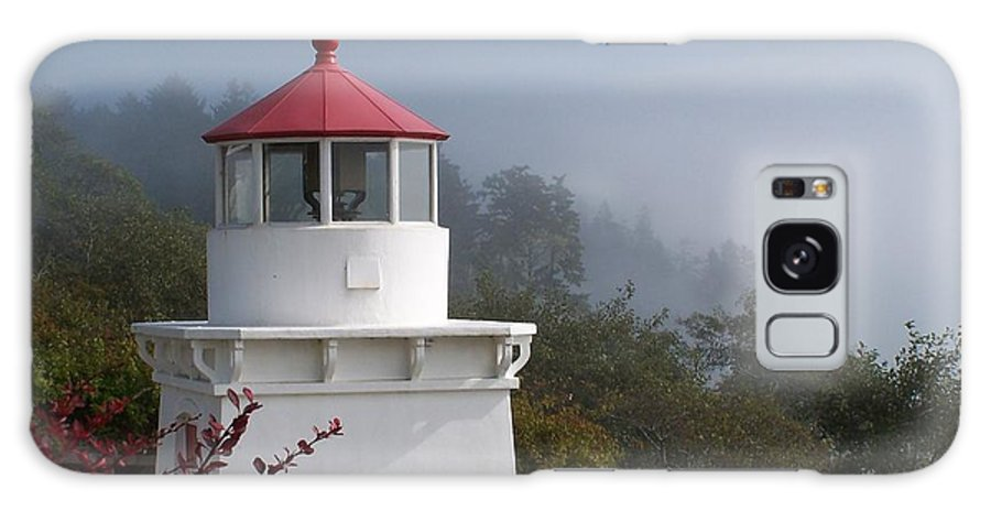 Lighthouse Galaxy S8 Case featuring the photograph Trinidad Head Lighthouse by Gale Cochran-Smith