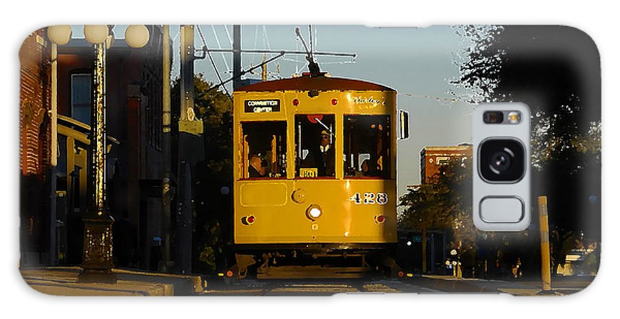 Trolley Galaxy S8 Case featuring the photograph Trolley Ride by David Lee Thompson